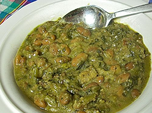 Southern Sausage, Greens, and Beans
