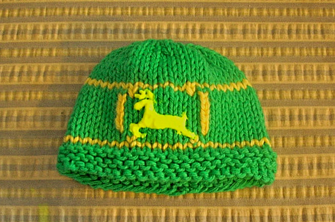 The John Deere Hat and a Contest - Knitting for the NICU 427858acbbb