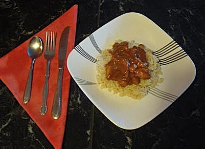 Curried Butter Chicken