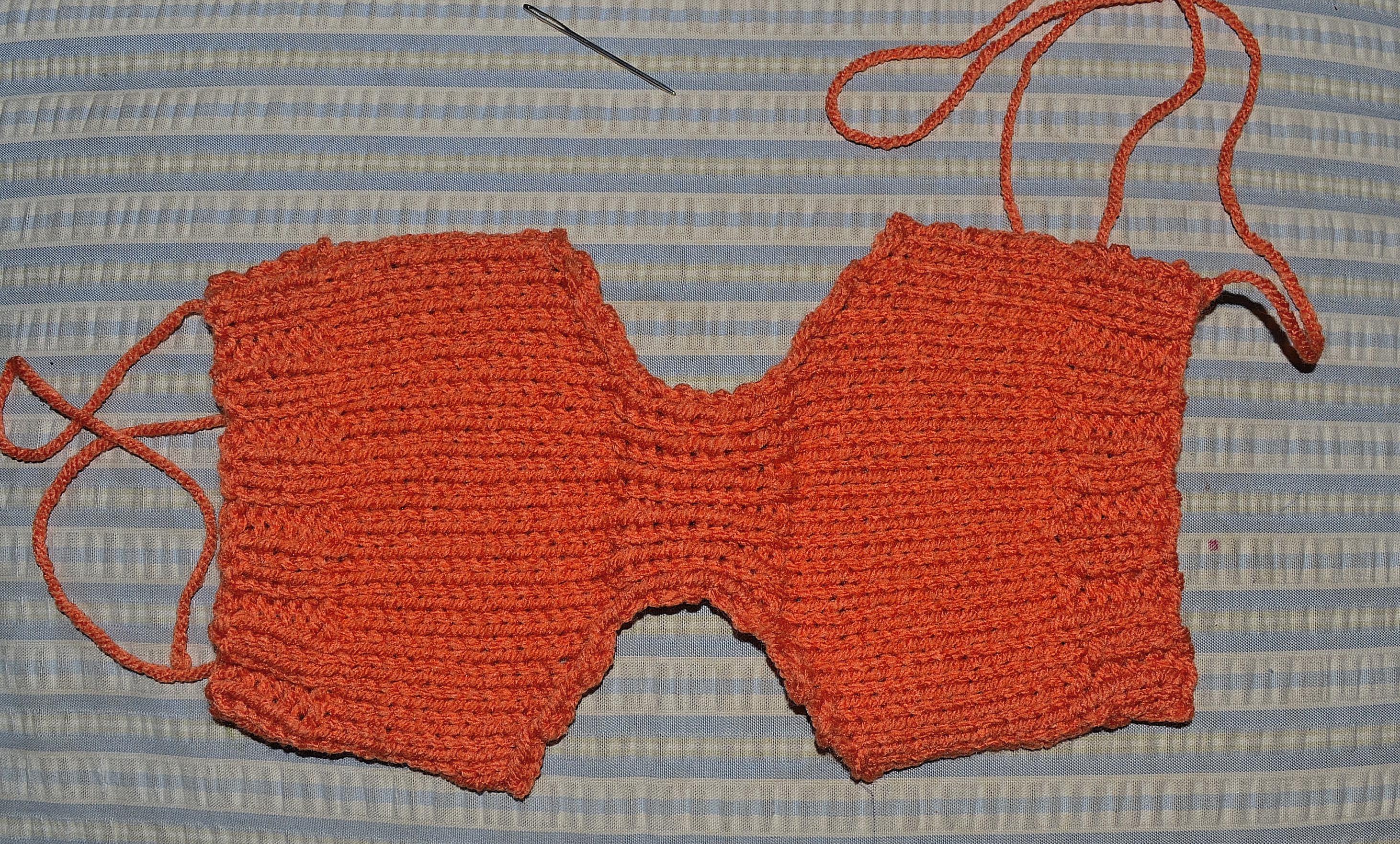 Easy Pumpkin Hat Diaper Cover Free Kntited Preemie Pattern