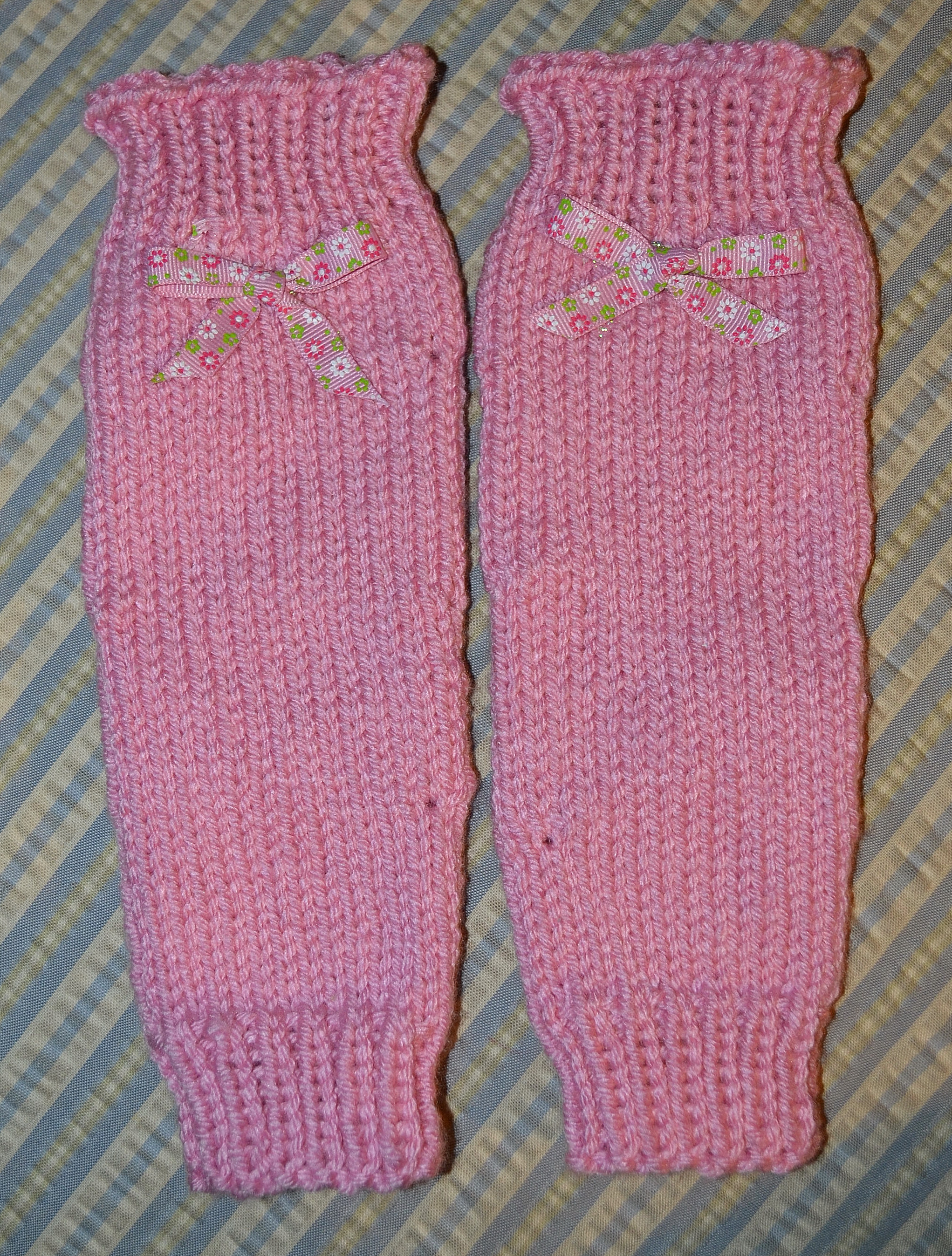 Free Patterns: Ballet Leg Warmers for Girls - Knitting for the NICU