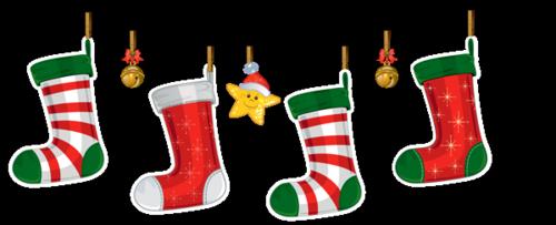 Merry stockings bright