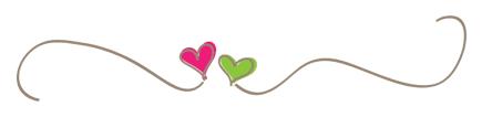 Heart divider line