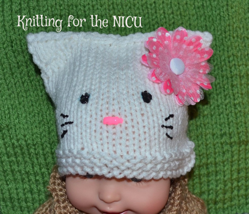 Free Pattern Hello Kitty In Nicu Micro Preemie Thru Newborn