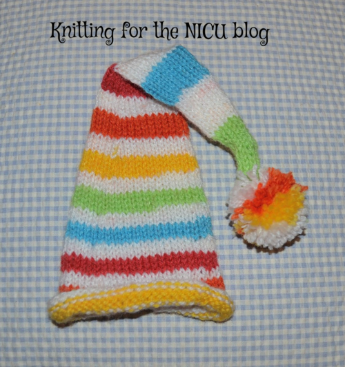 Knitting For The Nicu