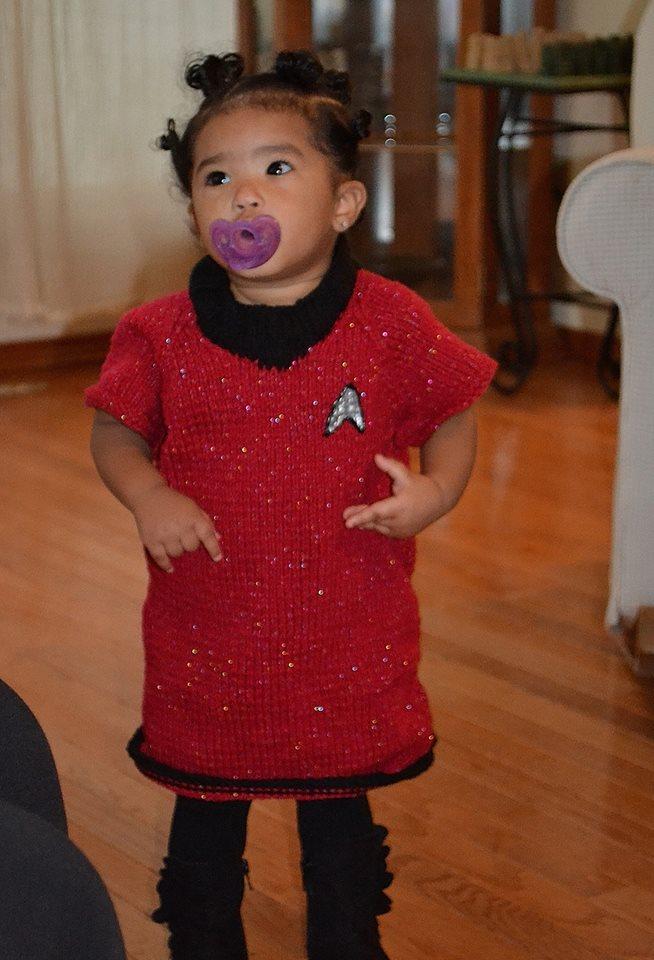 Myia Uhura costume 2013