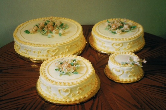 A FRIDGE FULL OF FOOD A Piece Of Cake Antique Wedding Cake - Old Fashioned Wedding Cake