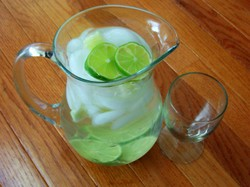 Cucumber_lime_water